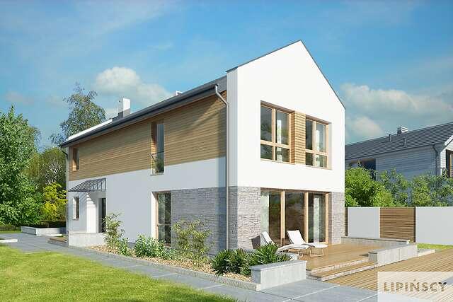 Zobacz powiększenie wizualizacji ogrodowej - projekt Luton